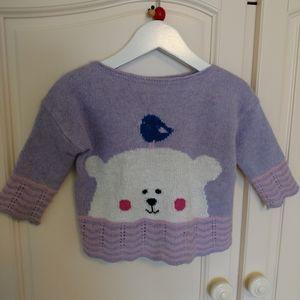 Girls wool sweater